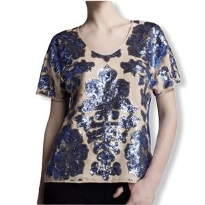 Tracy Reese Neiman Marcus Target Sequined Top Med